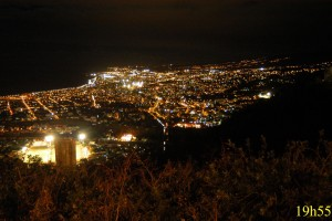 Ville de Saint-Denis la nuit - © Parc national de La Réunion